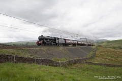 Steam Locomotive, LMS Jubilee Class,  45690 Leander at Tebay