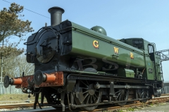 GWR 4612 Pannier tank engine steam locomotive
