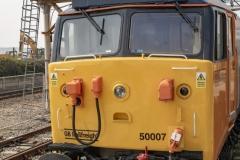 """BR Class 50 Diesel 50007 """"Hercules"""""""