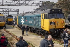 "English electric class 50 from Bodmin Heritage Diesel Group, 50042  ""Triumph"""