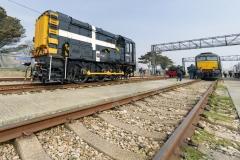 "Class 08, Shunter, Locomotive, 08645, ""St Piran"""