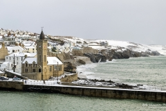 Porthleven Winter scene